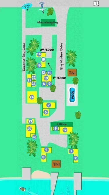 Resort Map | Bay Harbor & Coconut Bay Resort Key Largo on hawks key map, lakewood park map, ramrod key map, sunset key map, w palm beach map, miami map, chokoloskee map, hutchinson beach map, rockland key map, largo sound map, bradenton area map, anna maria island map, marco island map, rodriguez key map, florida map, daytona beach map, big pine key map, st. augustine beach map, no name key map, siesta key sarasota map,
